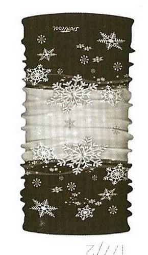 da645a7f3 Multifunkčný šál a šatka 9 in 1 snehová vločka