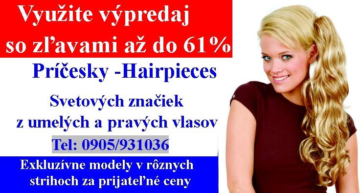 503cd3fc6 Príčesky a parochne Trenčín